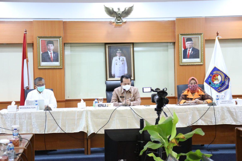 Badan Litbang Kemendagri Gelar Webinar Secara Virtual Terkait Atasi Konflik Agraria di Indonesia
