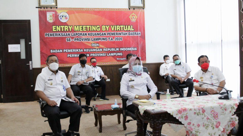 Pemkab Tuba Melaksanakan Entry Meeting Secara Virtual