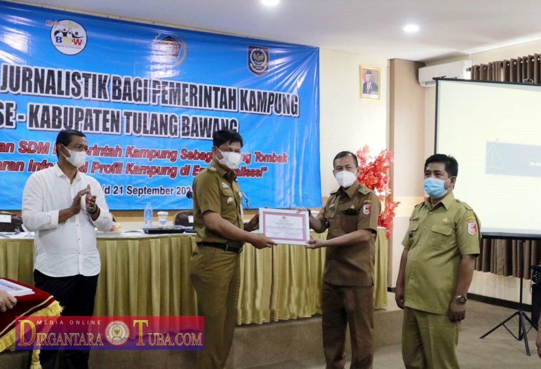 Pemkab Tuba Gelar Pelatihan Jurnalist Bagi Pemerintah Kampung Se-Kabupaten Tulang Bawang